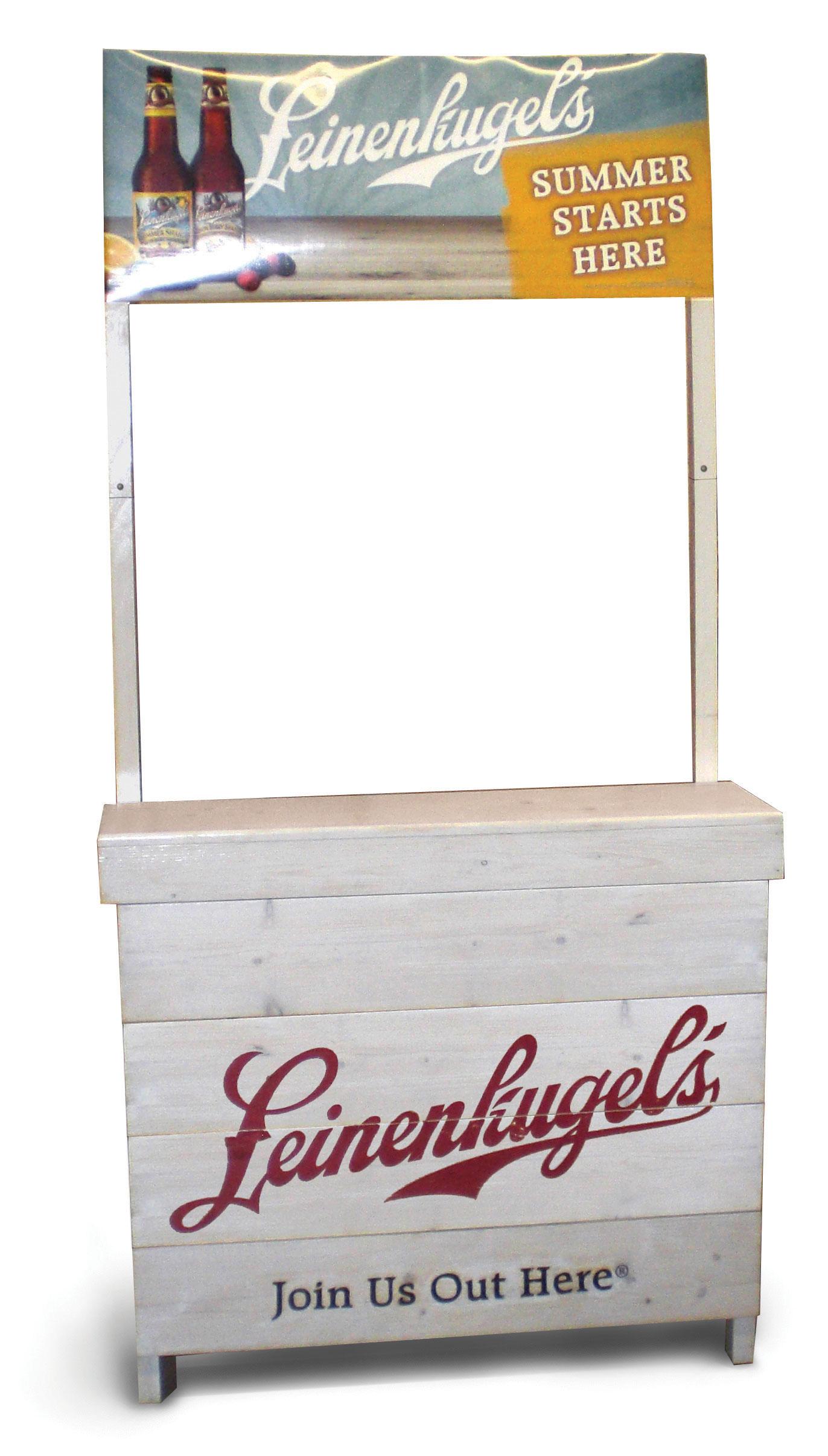 Leinenkugel's Tasting Stand