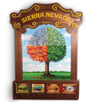 Sierra Nevada Seasonals LED Sign