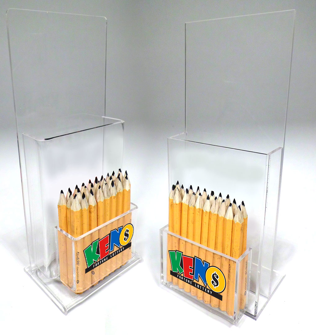 Keno Single Slip & Pencil Holders