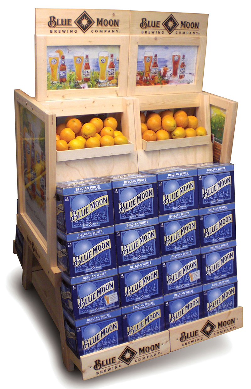 Blue Moon Store Display