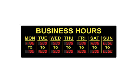 Digital business hours