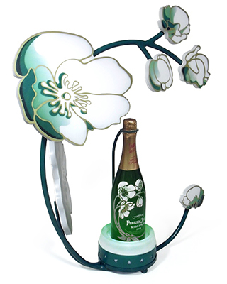 Perrier Jouet Bottle Presenter