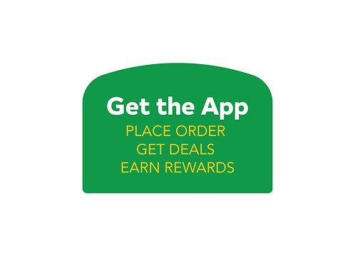 Get the App Arched Easel Backlit Face (join backorder list)