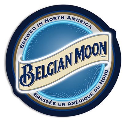 Belgian Moon LED Sign