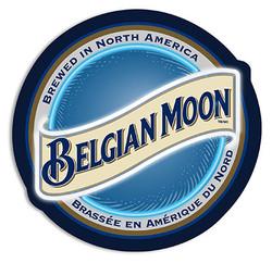 Belgian Moon LED Sign
