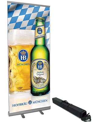 Hofbrau Retractable Banner