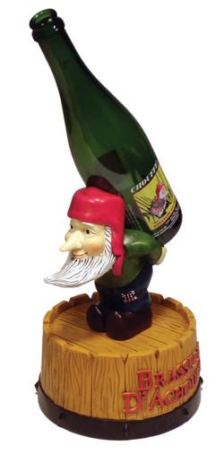 Brasserie Resin Bottle Glorifier