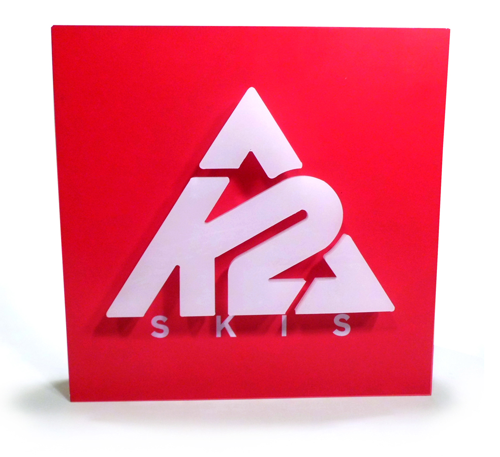 K2 Slat Wall Sign