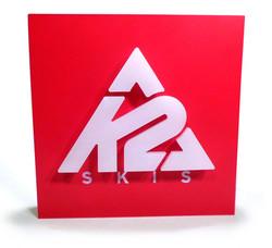K2 Slat Wall Sign