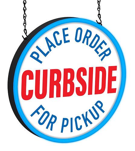 Curbside Pickup LED Sign