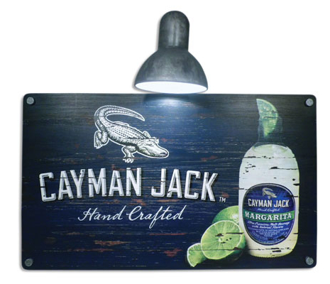 Cayman Jack Lamp Sign