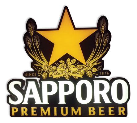 Sapporo LED Sign