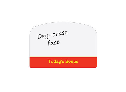 Today's Soups Arched Easel Dry-Erase Face (join backorder list)