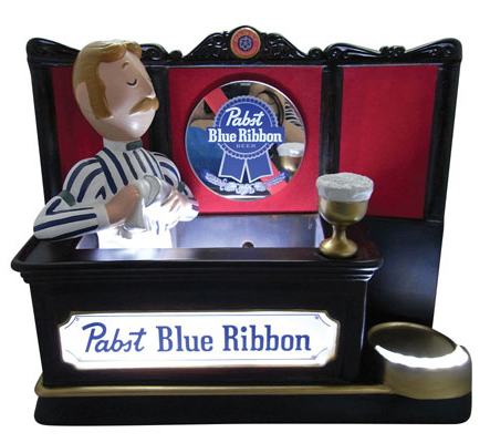 Pabst Resin Back Bar Display