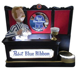Pabst Resin Back Bar Display
