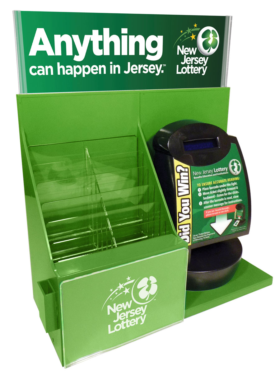 New Jersey Counter Merchandiser