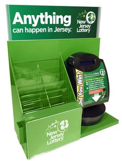 New Jersey Counter Merchandiser