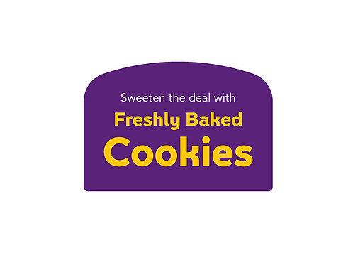 Freshly Baked Cookies Arched Easel Backlit Face (join backorder list)