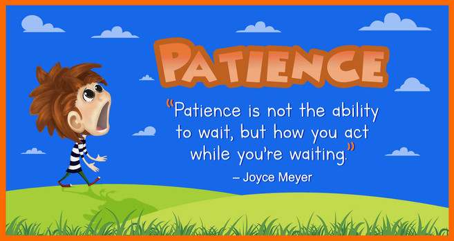 Patience Joyce Meyer Quote-Card