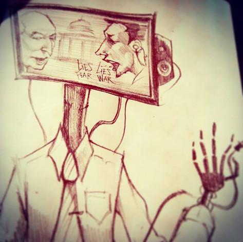#unplug #numbertwopencil #numberoneheadb
