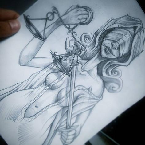 #looseleaf #drawing #illustration #ladyj