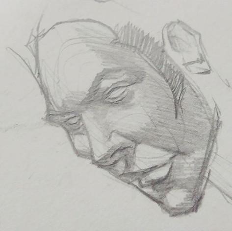 #sketchbook #sketch #nunbertwopencil #nu