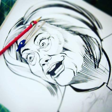 #hillaryclinton #caricature #cartoon #po
