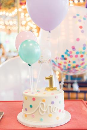 1st birthday cake carousel room elk grov