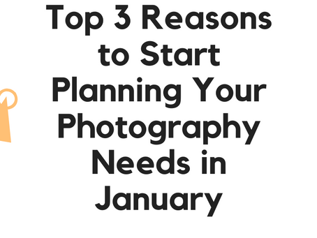 Planning Your Photography Needs in January | Chicagoland Photographer