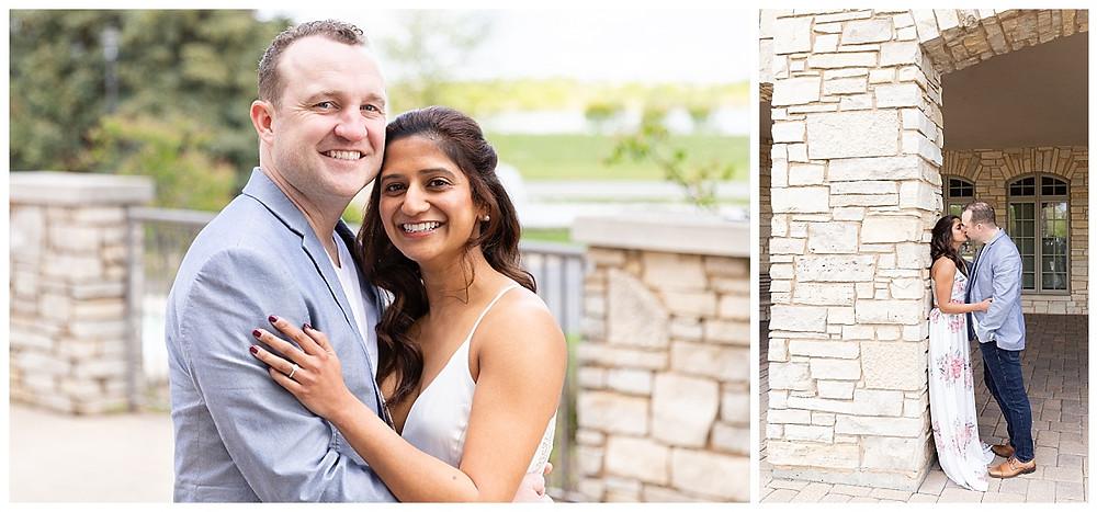 engagement photos, couples portraits, couples photos, wedding ring bolingbrook golf club