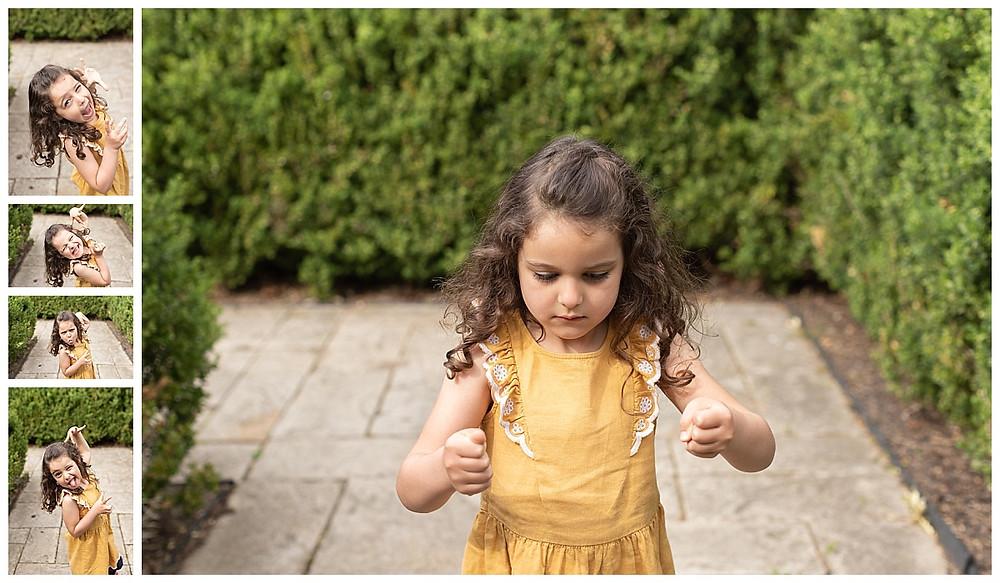 5 year old girl photos, spunky children's photos