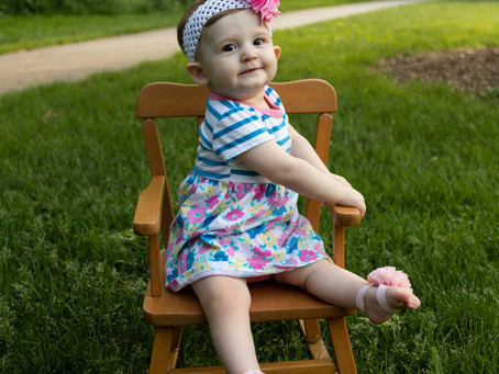 First Birthday Milestone Session-Downers Grove, IL