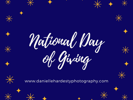 Giving Tuesday at Danielle Hardesty Photography