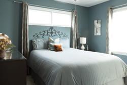 master bedroom real estate photo