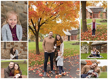 fall family photos fall colors hinsdale
