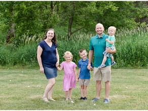 Summer Session with the D Family | Woodridge Family Photographer