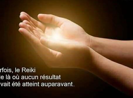 Enseignement Reiki 1er degré ( groupe)