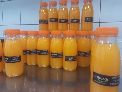 La préparation des jus frais