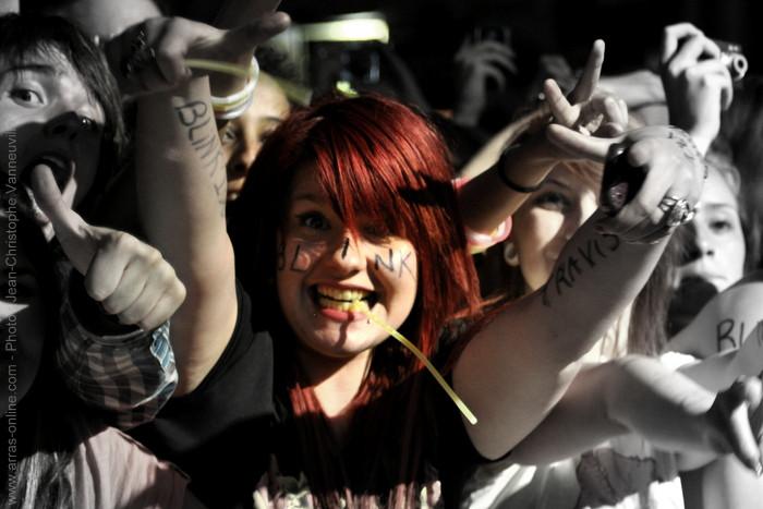 Blink 182 au Main Square Festival 2012 Arras
