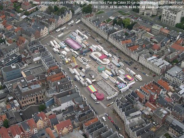 La Grand Place d'Arras