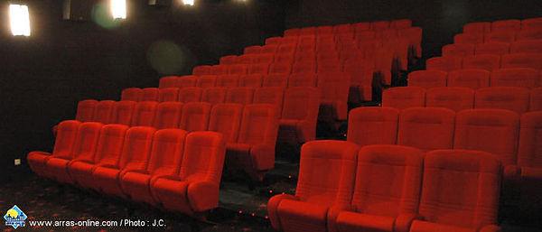 Le cinéma Megarama à Arras