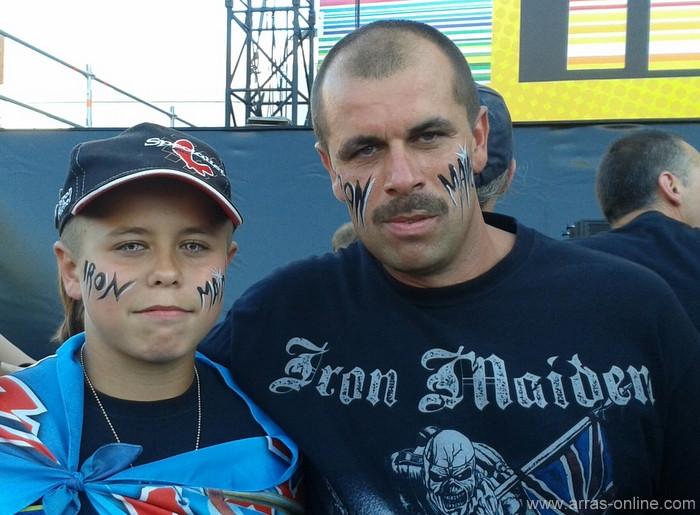 Main Square 2014 - Iron Maiden, père et fils !