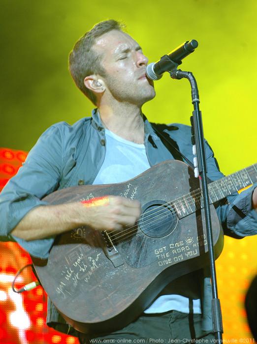 Coldplay au Main Square Festival d'Arras