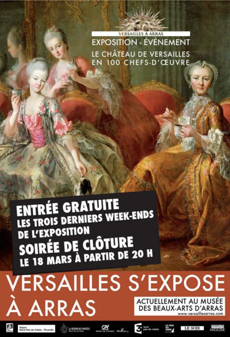 Expo Versailles au Musée d'Arras