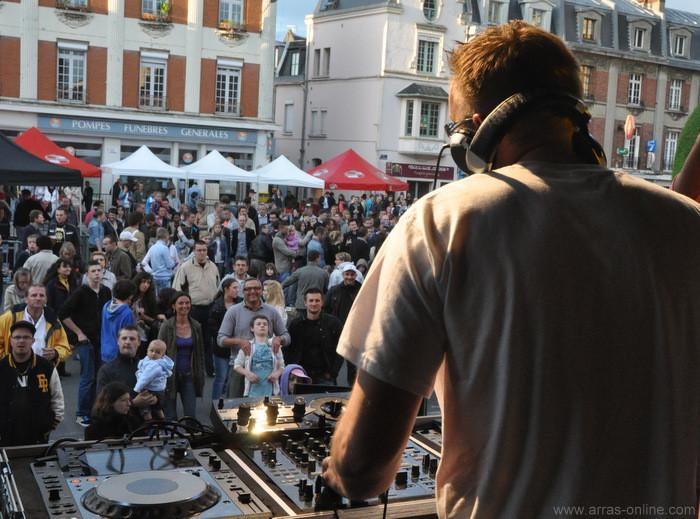 Ambiance à Arras avec la fête de la musique 2013 !
