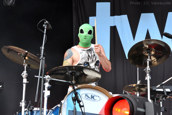 Twenty One Pilots au Main Square Festival d'Arras 2014