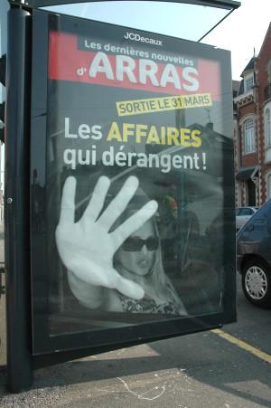 Auchan Arras Teasing 2011