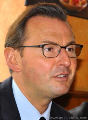 Frédéric Leturque en conférence de presse le 20 septembre 2013