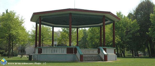 Le Kiosque du Jardin du Gouverneur d'Arras