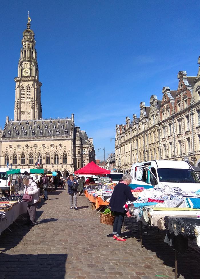 Arras s'éveille au printemps